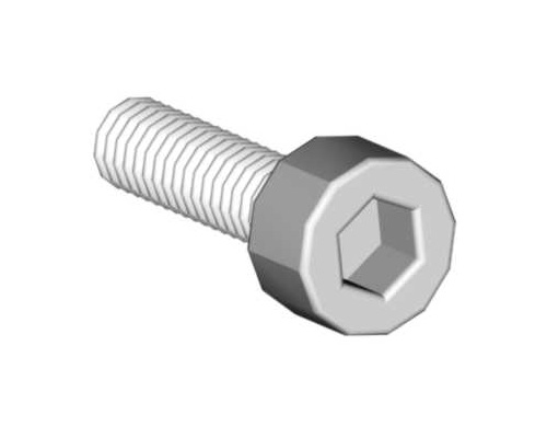 Mikado Socket head cap screw M2.5x10