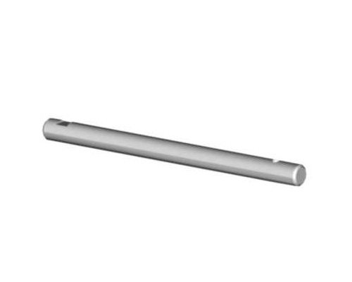 Mikado Tail rotor shaft hardened, 74.8mm