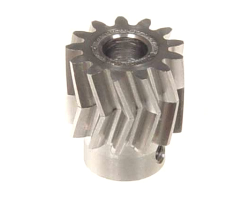 Mikado Pinion for herringbone gear 13teeth, M1, dia.6mm