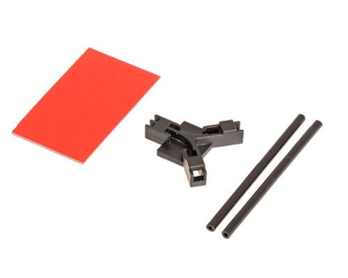 Mikado Antenna support flat mounting, black
