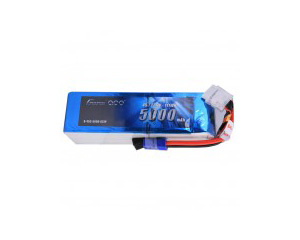 Gens Ace 5000mAh 22.2V 45C 6S1P Lipo Battery Pack EC5 plug