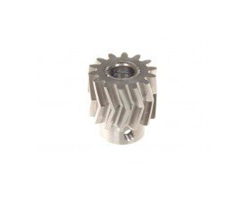 Mikado Pinion for Herringbone Gear 13 Tooth 25i, M1, Dia. 6mm