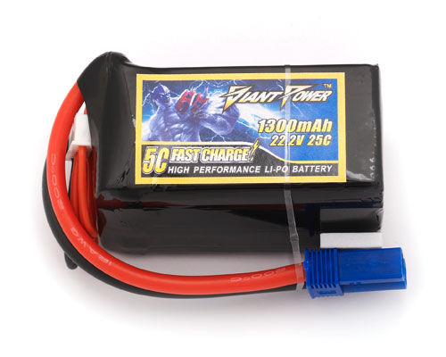 Giant Power 6S 22.2V 1300mAh 25C Lipo Battery