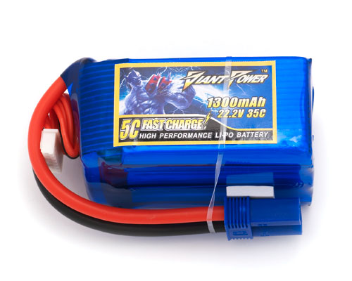 Giant Power 6S 22.2V 1300mAh 35C Lipo Battery