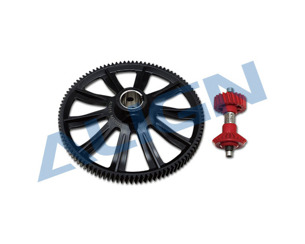 Align 102T M1 Helical Autorotation Tail Drive Gear Set H70G012XX