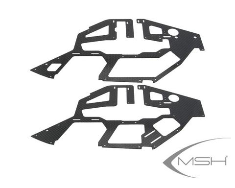 MSH Carbon Main Frame Set for Protos 380