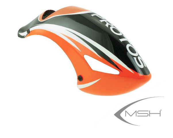 MSH Evoluzione Canopy Red (no magnetic mounts) for Protos 380