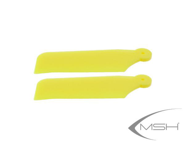 MSH Tail Blade Yellow for Protos 380