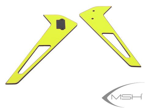 MSH Vertical Tail Fin Sticker Yellow for Protos 380
