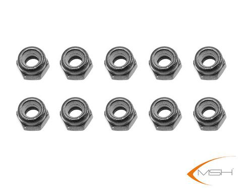 MSH M2.5 Nylon Locknut for Protos 380