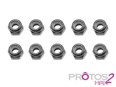 MSH Nylon Locking Nuts 4mm for Protos Max V2