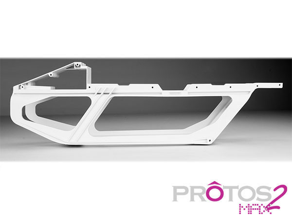 MSH Main Plastic Frame for Protos Max V2 white