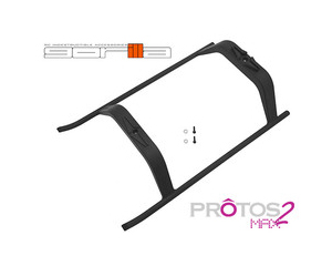 MSH 800 Gorilla Landing Gear (Black) for Protos Max V2