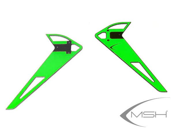 MSH Vertical Fin Sticker Green for Protos Max V2