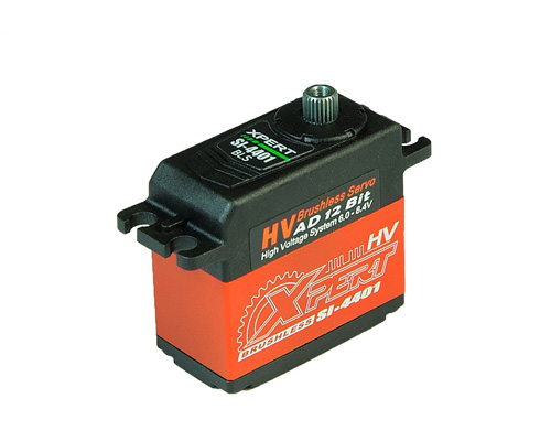 Xpert RC SI-4401-HV Aluminum Case HV Brushless Cyclic Servo