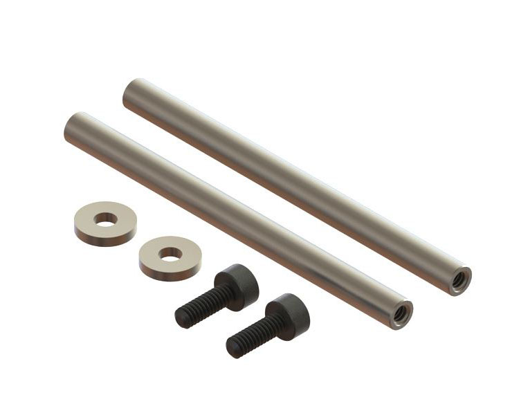 Oxy3 Carbon Steel Spindle Shaft 2pc