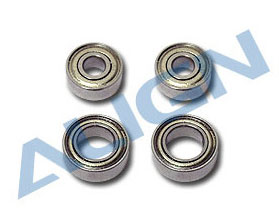 Align H60104T Bearings (mr83ZZ/mr95zz) for T-REX 600