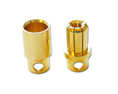 8mm Bullet Connector - 2 pairs