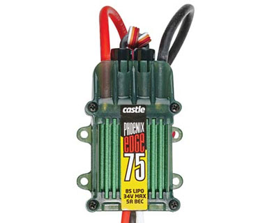 Castle Creations Phoenix Edge 75 32V 75Amp ESC with 5A BEC