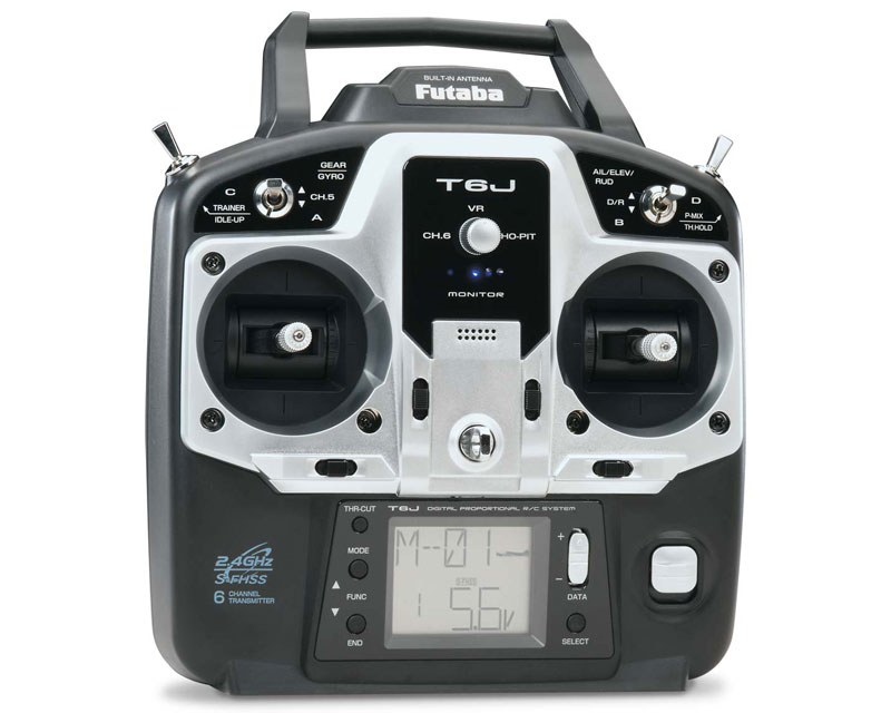 Futaba 6J 2.4GHz SFHSS with R2006GS Tx/Rx