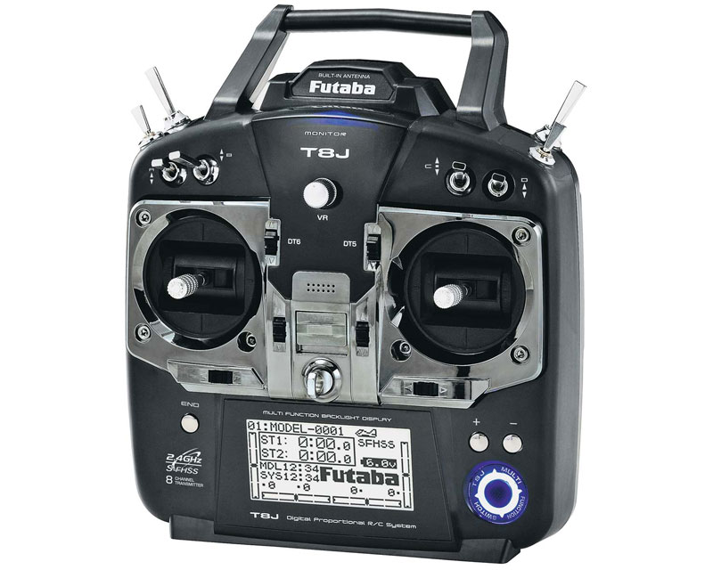 Futaba 8J 2.4GHz SFHSS with R2008SB