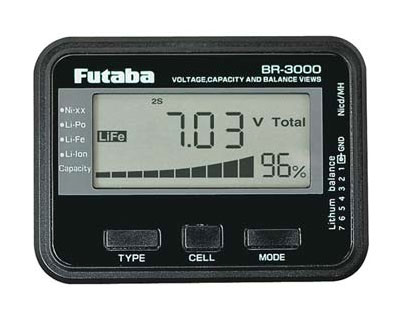 Futaba BR3000 Battery Checker