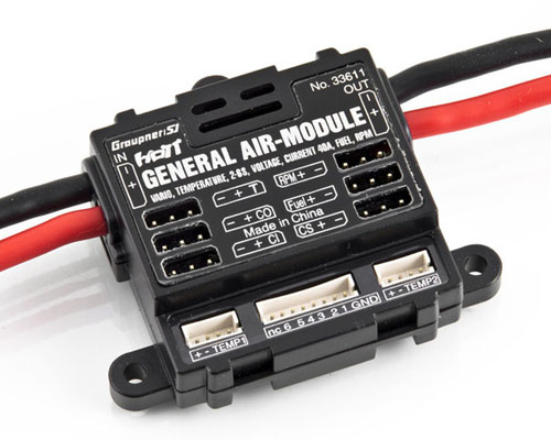 Graupner HoTT General air module  2-6S Vario