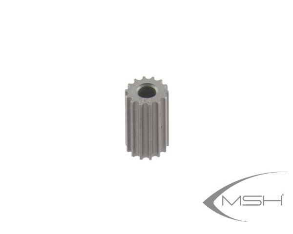 MSH Pinion 3.5mm 15T for Protos 380