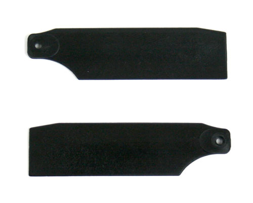 KBDD Tail Rotor Blades 61mm Midnight Black