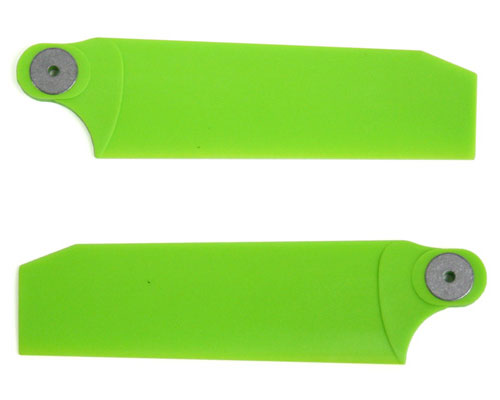 KBDD Tail Rotor Blades Extreme Edition 112mm Neon Lime