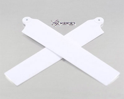 KBDD Main Rotor Blades for MCPx Bright White