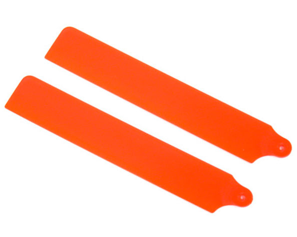 KBDD Main Rotor Blades for MCPx Pilot's Choice Neon Orange