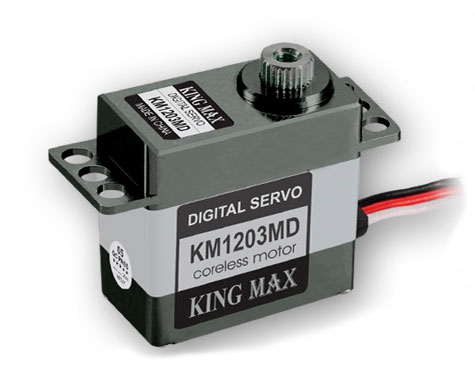 KingMax KM-1203MD Micro Digital Cyclic & Tail Servo