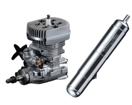 OS GT15HZ Gasoline Helicopter Engine with Powerboost Pipe