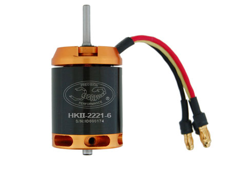 Scorpion HK-2221-6 V2 Brushless Motor