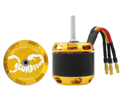 Scorpion HKIII-4020-1100 Brushless Motor
