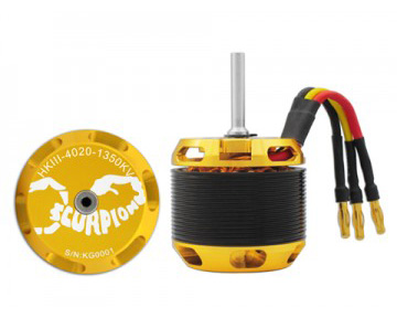 Scorpion HKIII-4020-1350 Brushless Motor