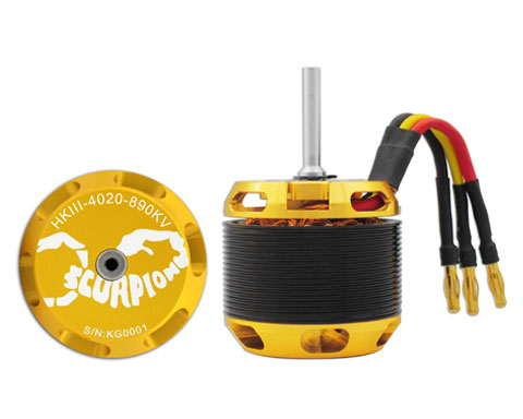 Scorpion HKIII-4020-890 Brushless Motor