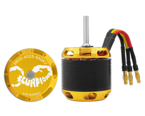 Scorpion HKIII-4025-550 Brushless Motor