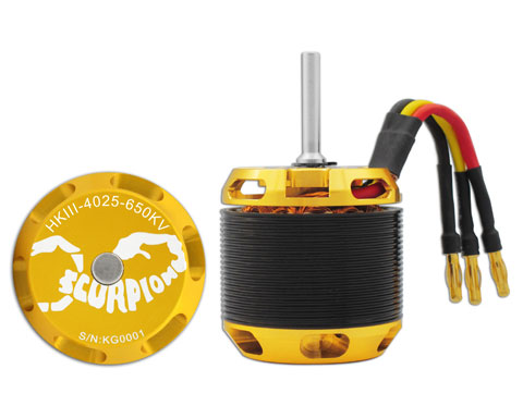 Scorpion HKIII-4025-650 Brushless Motor
