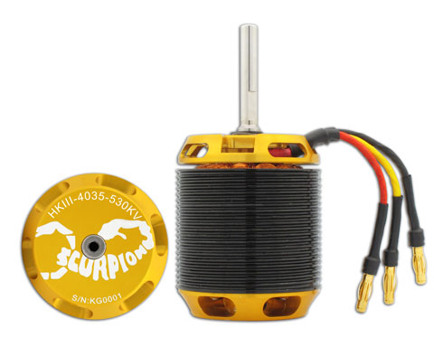 Scorpion HKIII-4035-530 Brushless Motor