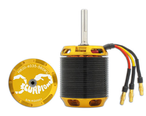 Scorpion HKIII-4035-560 Brushless Motor