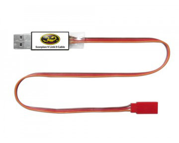 Scorpion V-Link-II ESC Programming Cable