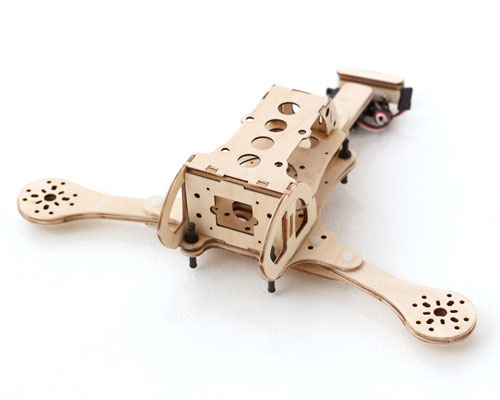 Burnt Wood RC Splinter T Tricopter