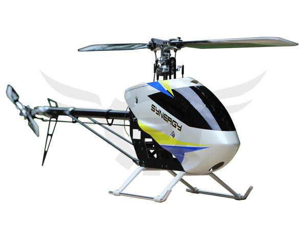 Synergy E5 Flybarless Torque Tube Helicopter Kit