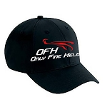 Only Fine Helis Logo Hat - Black