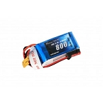 Gens Ace 800mAh 11.1V 40C 3S1P Lipo Battery Pack with JST Plug