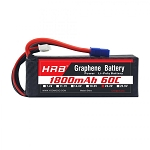 HRB Graphene 6S 1800 22.2V 60C Max Lipo Battery EC3