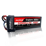 HRB Graphene 6S 5000 22.2V 100C Max Lipo Battery EC5
