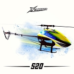 XL Power 520 Kit with Main Blades and Tail Blades XL52K02
